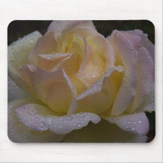 Roses Rosa, Dark Shade Mouse Pad
