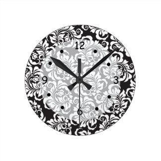 roses round clock