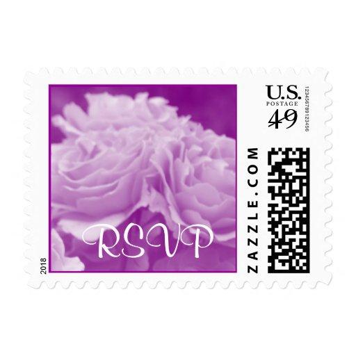 Roses RSVP Stamp