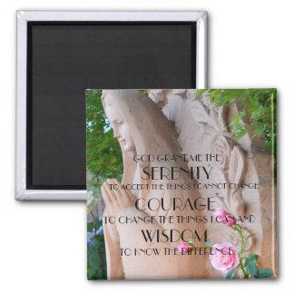 Roses Serenity Prayer Magnet