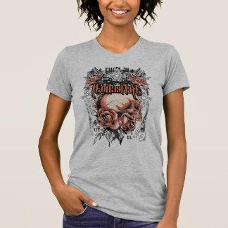 Roses Skull Vintage T-Shirt