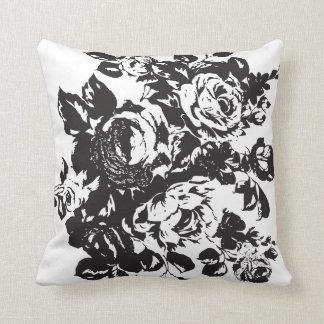 Roses Stencil Cushion Design