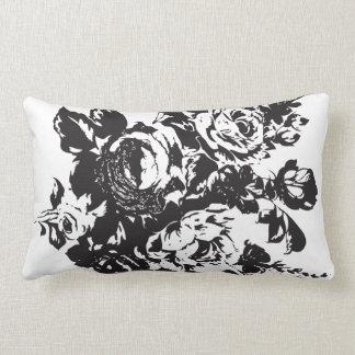 Roses Stencil Pillow Design