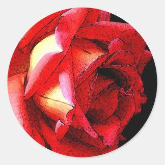 Roses Round Sticker