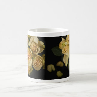 Roses Still LIfe with petals Coffee Mugs