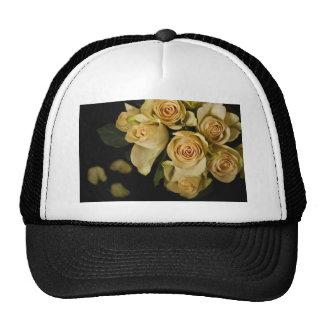 Roses Still LIfe with petals Trucker Hat