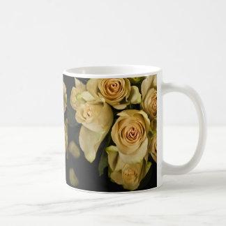 Roses Still LIfe with petals Mugs