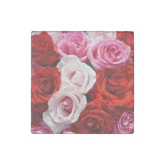Roses Stone Magnet