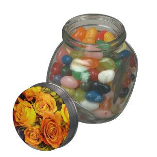 Roses & Sweets_ Glass Candy Jars