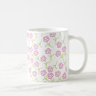 Roses Template Classic White Coffee Mug