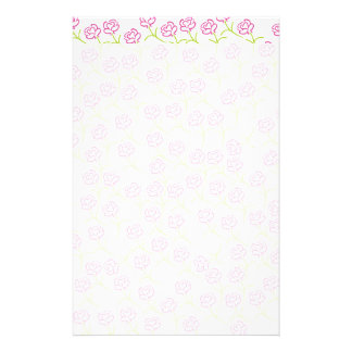 Roses Template Stationery