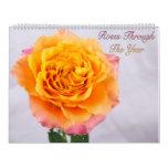 Roses Through The Year Photo Calendar