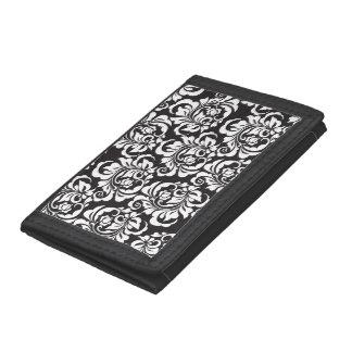 roses tri-fold wallet