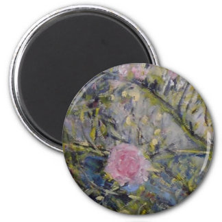 Roses under the Balkan 2 Inch Round Magnet
