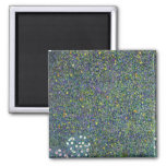 Roses under the Trees, c.1905 2 Inch Square Magnet