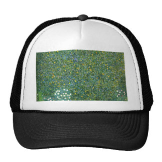 Roses under the Trees Cute Trucker Hat