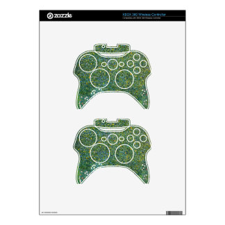 Roses under the Trees Cute Xbox 360 Controller Decal