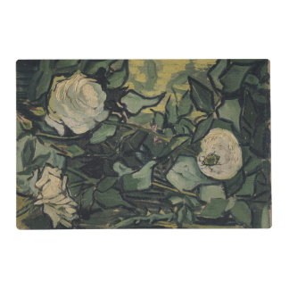Roses Van Gogh ゴッホ, バラ, Laminated Placemat