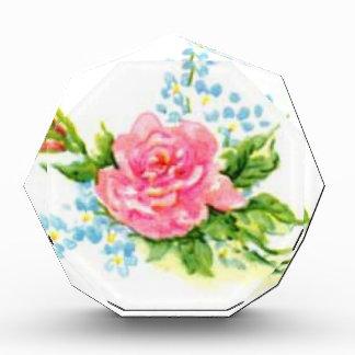 Roses, Vintage garden Acrylic Award