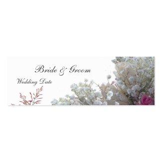 Roses Wedding Favor Tag profilecard