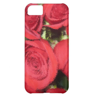 Roses with dry brush II.jpg iPhone 5C Cases