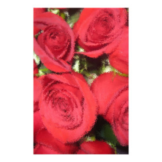Roses with dry brush II.jpg Stationery
