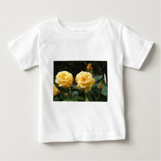 Roses With Raindrops Baby T-Shirt