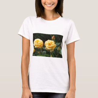Roses With Raindrops T-Shirt