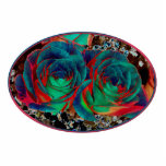 Roses with Solarized Special Effect Cut Out