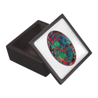 Roses with Solarized Special Effect Premium Trinket Boxes