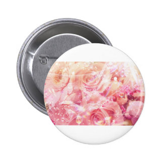 Roses Wrapped Pinback Button