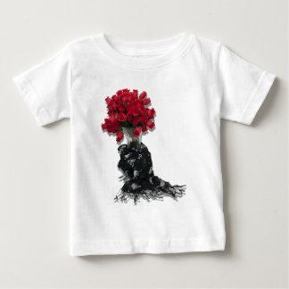 RosesBlackShawl072310 Tshirt