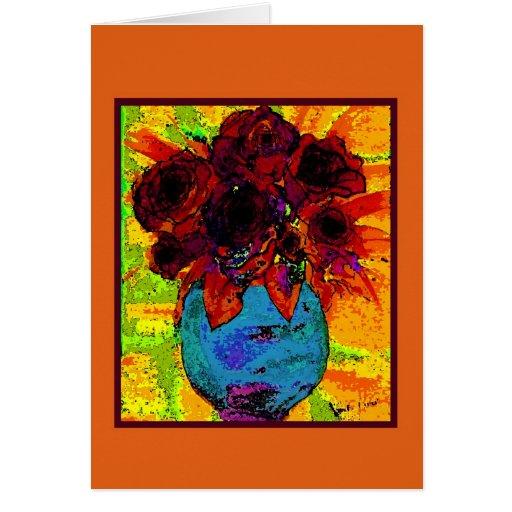 rosescrd tarjeta de felicitación