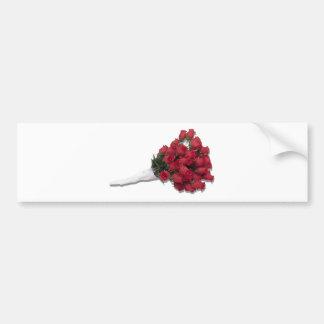 RosesInPapertowel072310 Pegatina De Parachoque