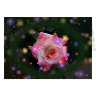 rosesparkled card