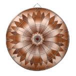 Rosetón de cobre tablero de dardos