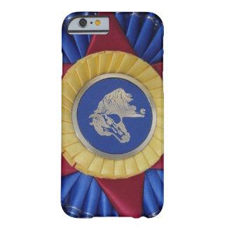 Rosetón de la demostración del caballo funda de iPhone 6 barely there
