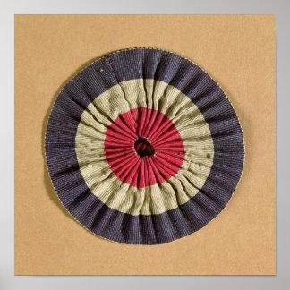 Rosetón de Tricolore Póster