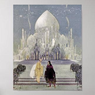 Rosetón y príncipe Charmant Poster