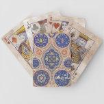 Rosetones apenados de Aarabic Baraja Cartas De Poker