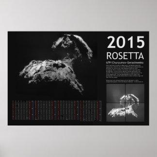 Rosetta 2015 print
