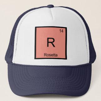 Rosetta Name Chemistry Element Periodic Table Trucker Hat