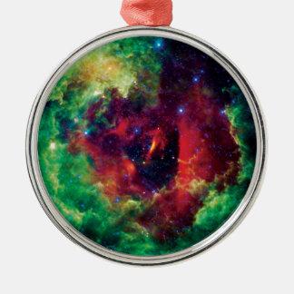 Rosetta Nebula NASA Space Photo Metal Ornament