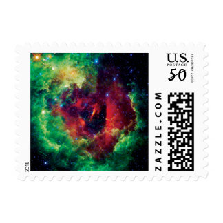 Rosetta Nebula NASA Space Photo Postage