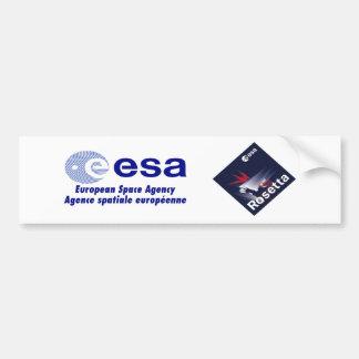 Rosetta Spacecraft Bumper Sticker
