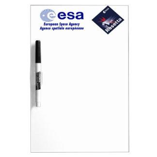 Rosetta Spacecraft Dry Erase Board