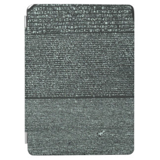 Rosetta Stone Ancient Egyptian hieroglyphs iPad Air Cover