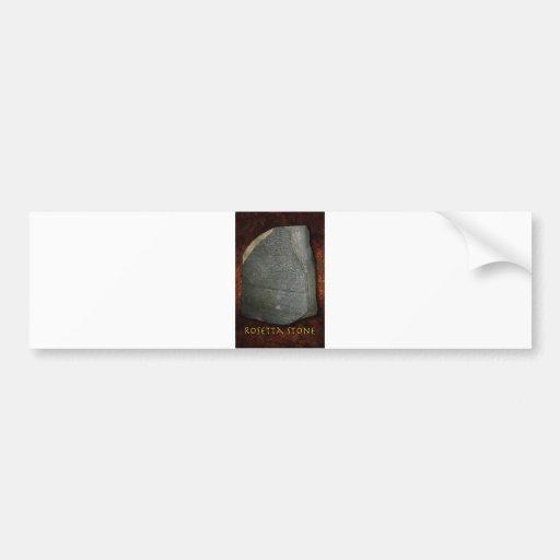Rosetta Stone Bumper Sticker