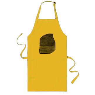 Rosetta stone long apron