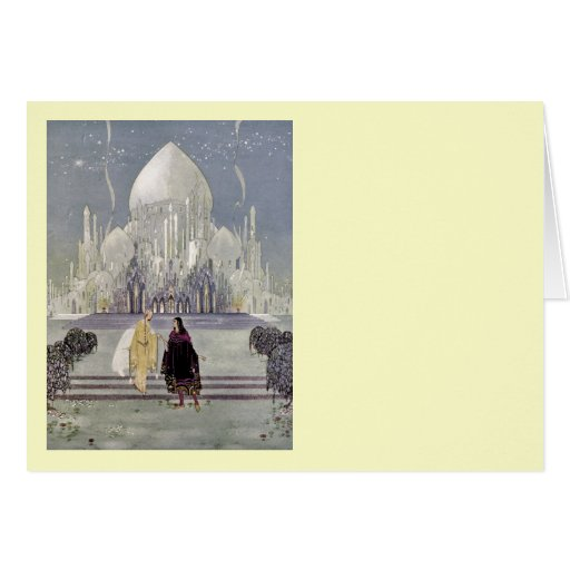 Rosette and Prince Charmant Card